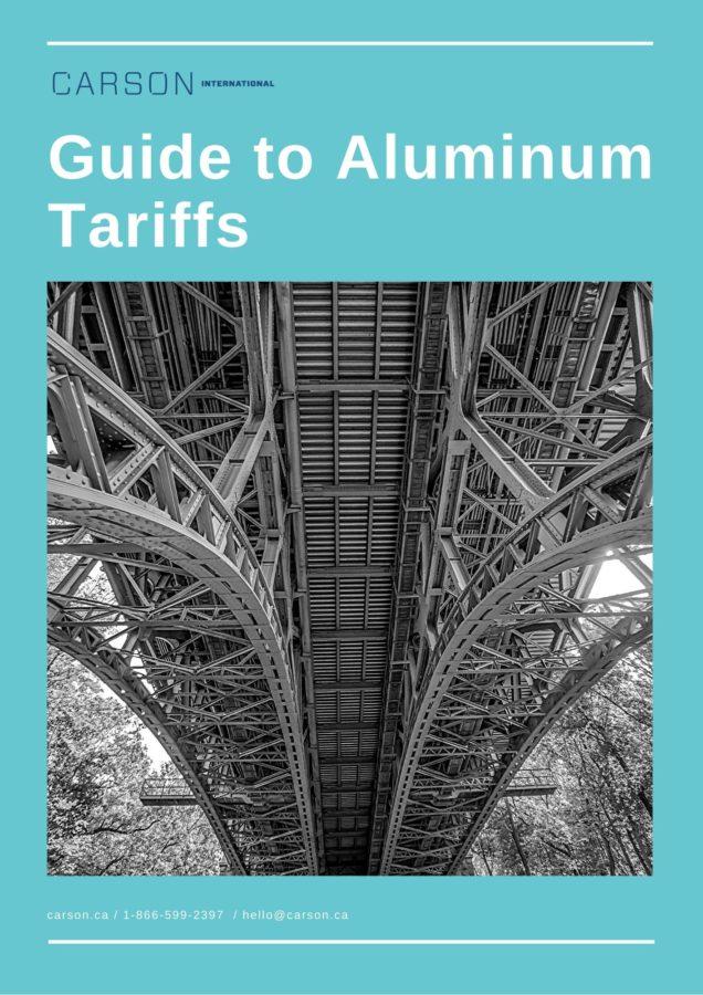 Carson Guide to Aluminum Tariffs